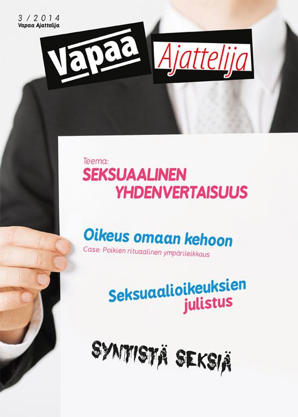 Vapaa Ajattelija 3/2014   Vapaa-ajattelijain Liitto ry